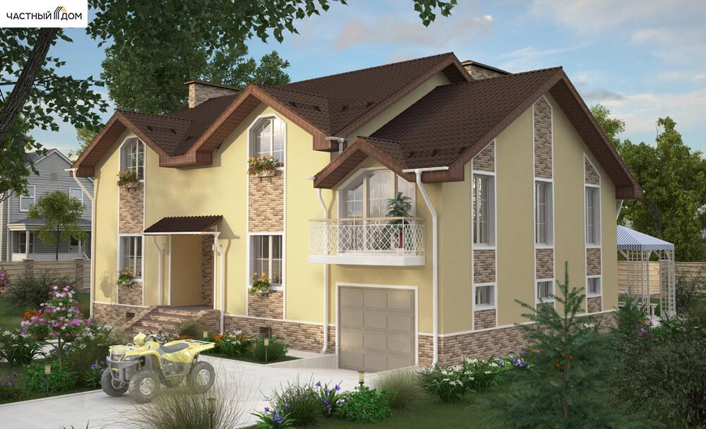 Проект дома 053-14