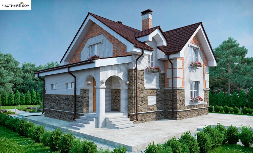 Проект дома 057-13