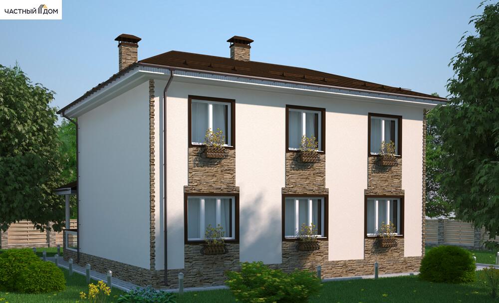 Проект дома 025-14