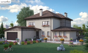 Проект дома 077-14
