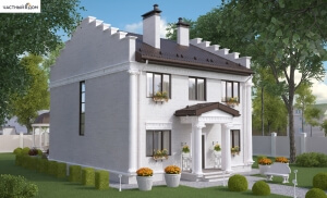 Проект дома 046-15
