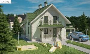 Проект дома 063-11