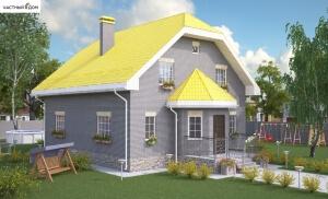Проект дома 007-10